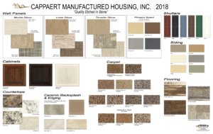 2018 Cappaert Decor Board