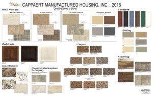 2018 Cappaert Decor Board