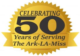 50 Years Serving the Ark-LA-Miss